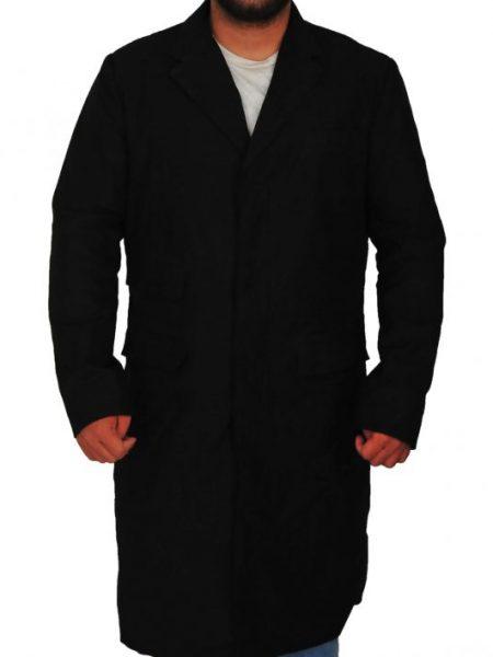 Peaky Blinders Thomas Shelby Long Black Coat