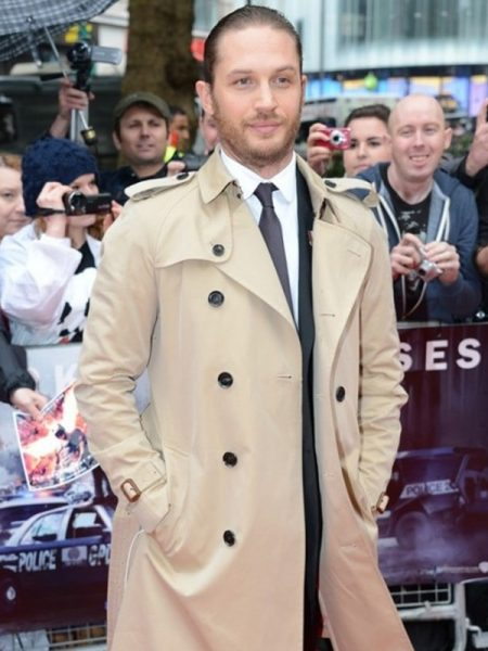 Tom Hardy Long Trench Coat
