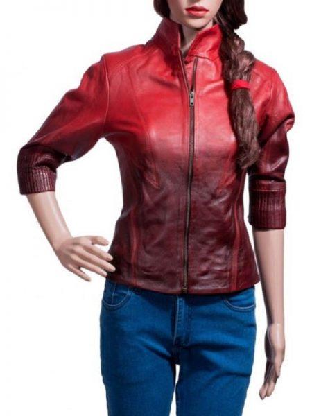 Leather Jacket, women's fashion