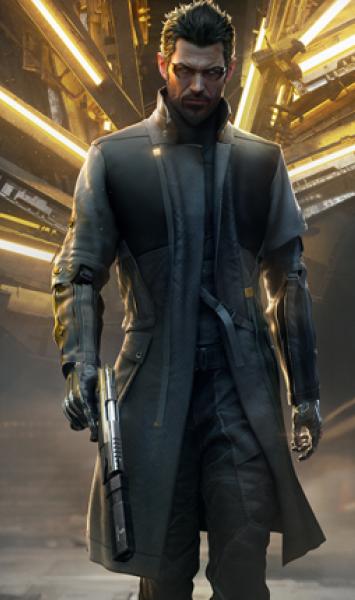 Adam Jensen Deus Ex Mankind Coat