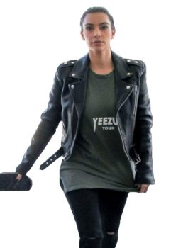 Kim-Kardashian-Motorcycle-Leather-Jacket