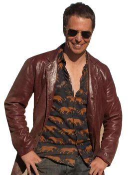 Billy-Seven-Psychopaths-Sam-Rockwell-Red-Blazer-Jacket