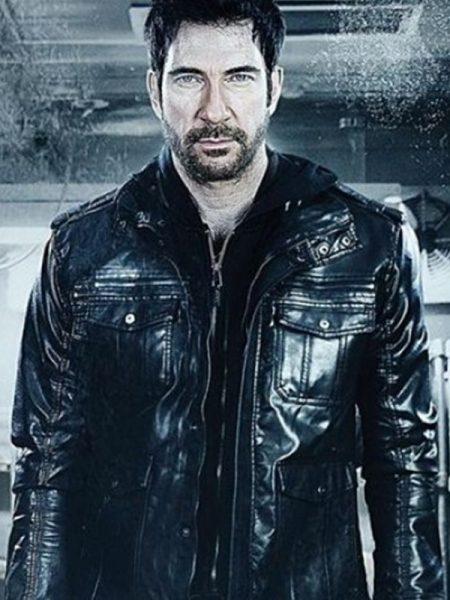 Movie Freezer Dylan McDermott Black Bomber Jacket