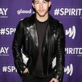 Nick Jonas Black Leather Jacket