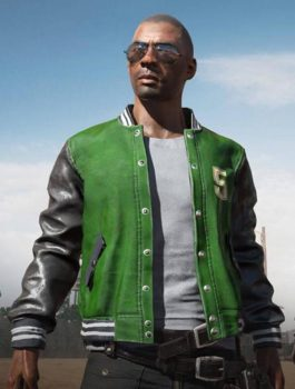 Game PubG 5M Leather Jacket