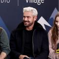 Zac Efron Stylish Fleece Fur Jacket