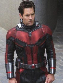 Avengers Endgame Ant-Man Scott Lang Leather Jacket