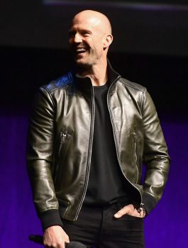 Jason Statham Lovely Leather Jacket