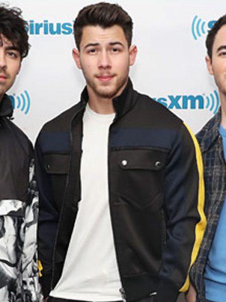 Nick Jonas Lovely Leather Jacket