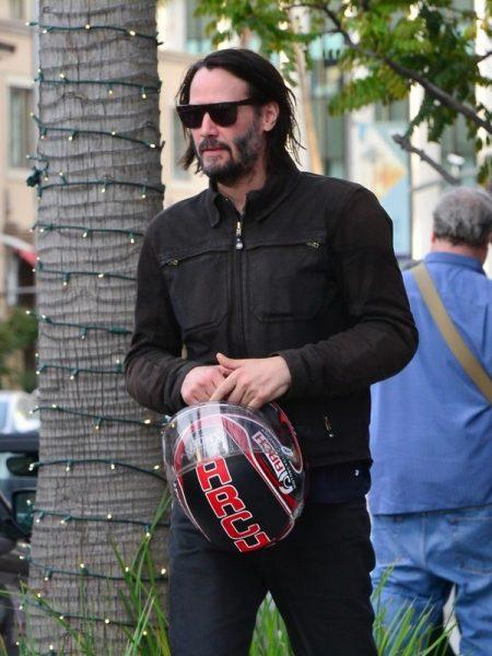 Keanu Reeves Motorcycle Jacket