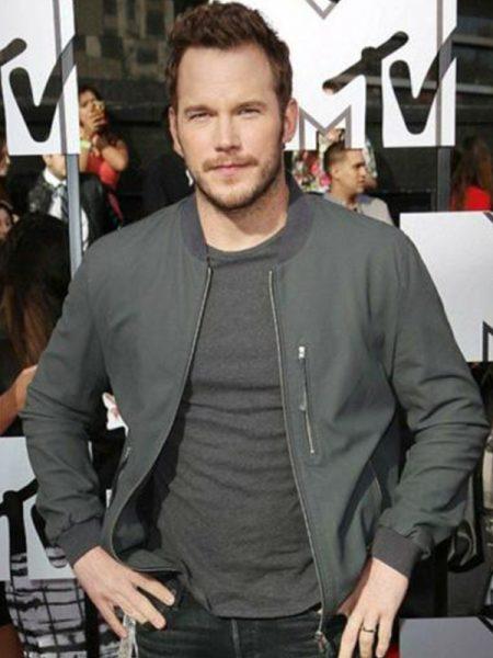 MTV Jurassic World Chris Pratt Fleece Jacket
