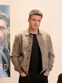TV Series Bodyguard Richard Madden Gray Jacket