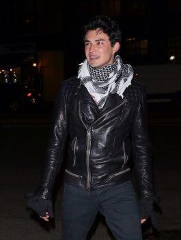 Sabrina Gavin Leatherwood Black Jacket