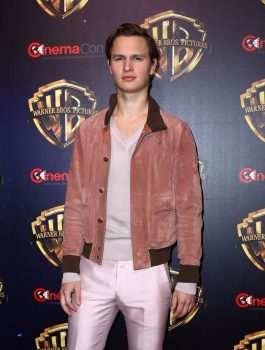 Ansel Elgort Joined Goldfinch At CinemaCon Jacket