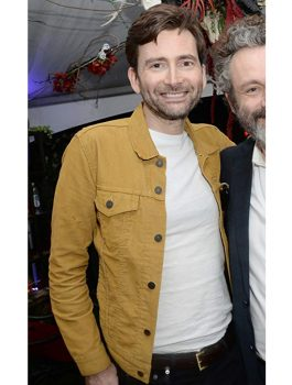 TV Series Good Omens David Tennant Jacket