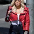stylish ladies jacket, Red jacket
