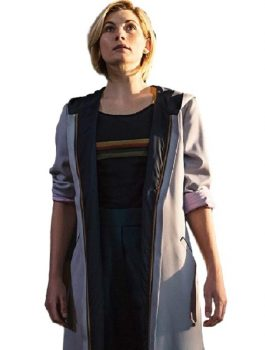 Jodie-Whittaker Coat, Women's fashion