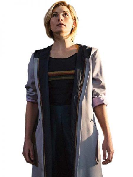 Jodie-Whittaker Coat, Women's fashion