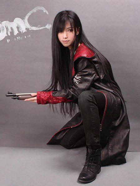 leather Coat Jacket, Dante Game