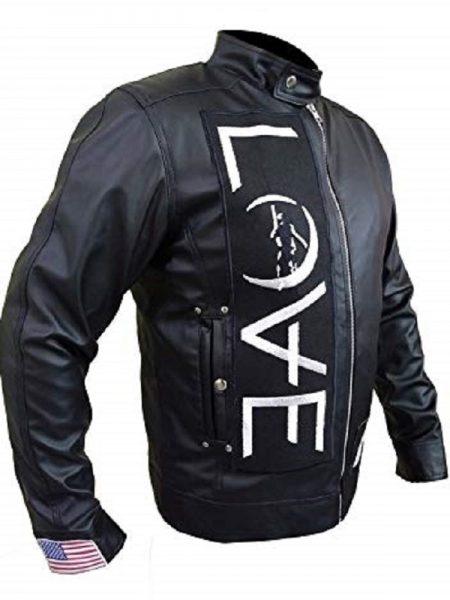 Black Leather Jacket, Tom DeLonge Angel
