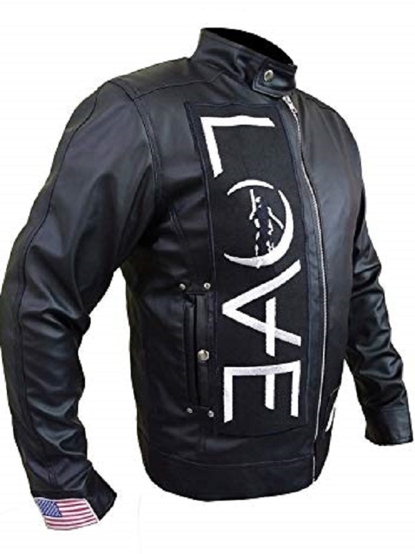 Tom Delonge Angels and Airwaves Love AVA Vintage Men/'s Leather Jacket
