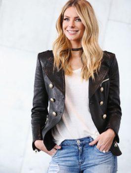 Leather jacket, Women's jacket