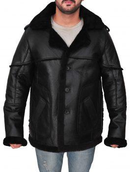SHearking inner , sheep leather , inside pocket