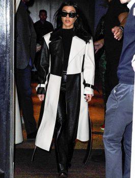 Kourtney Kardashian and Kendall Jenner head out in SoHo