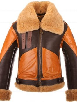 A4-Brown-Genuine-Leather-Jacket-Faux-Shearling-1