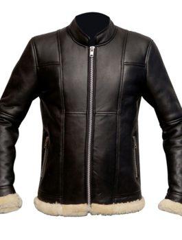 B3-Slimfit-with-Genuine-Shearling-Black-Biker-Real-Leather-Jacket-1-1