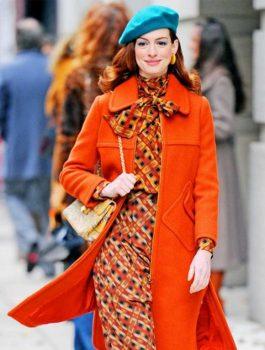 Anne-Hathaway-Modern-Love-Orange-Coat-600x766
