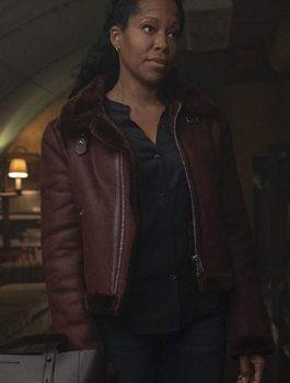 Regina King Watchmen jacket