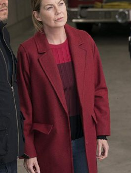 Grey's Anatomy Ellen Pompeo Wool Coat