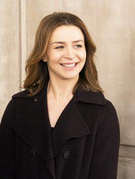 Caterina Scorsone wool Coat