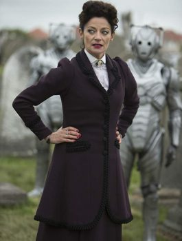 Doctor Who,Michelle Gomez coat