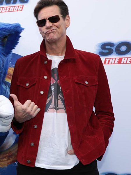 Sonic the Hedgehog Jim Carrey Jacket
