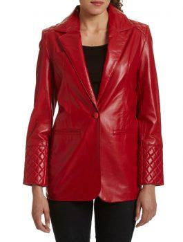 Red-Leather-Blazer-Jacket