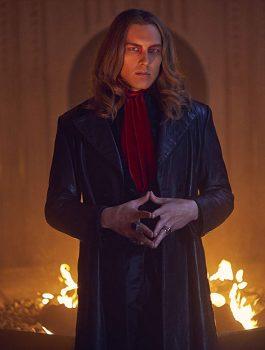 Cody-Fern-American-Horror-Story-S09-Black-Trench-Coat