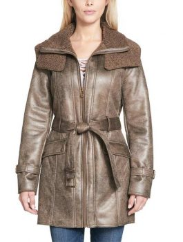 Brown-Duster-Shearling-Jacket