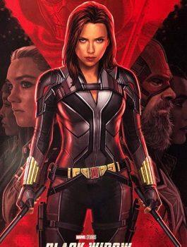 2020 Film Black Widow Leather Jacket