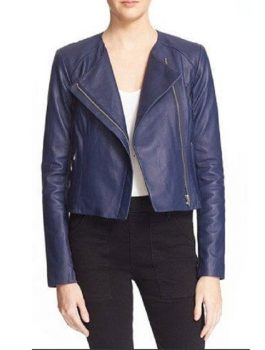 Emily Bett Rickards Arrow Leather Jacketss