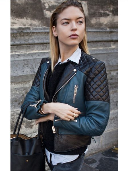 Martha-Hunt-Street-Style-Quilted-Leather-Jacket