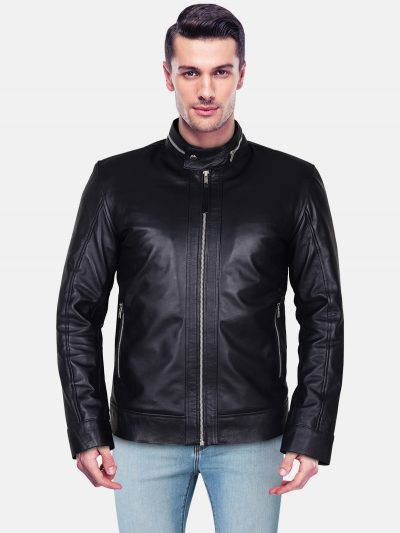 Bikeather leather jacket