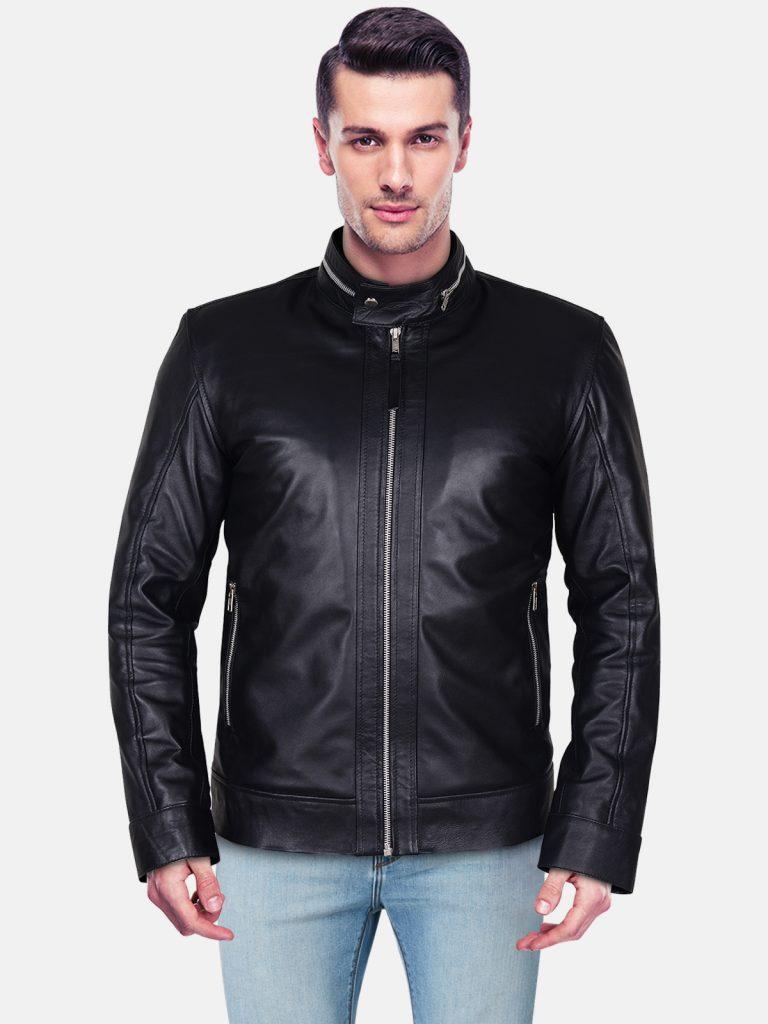 Bikeather leather jacket