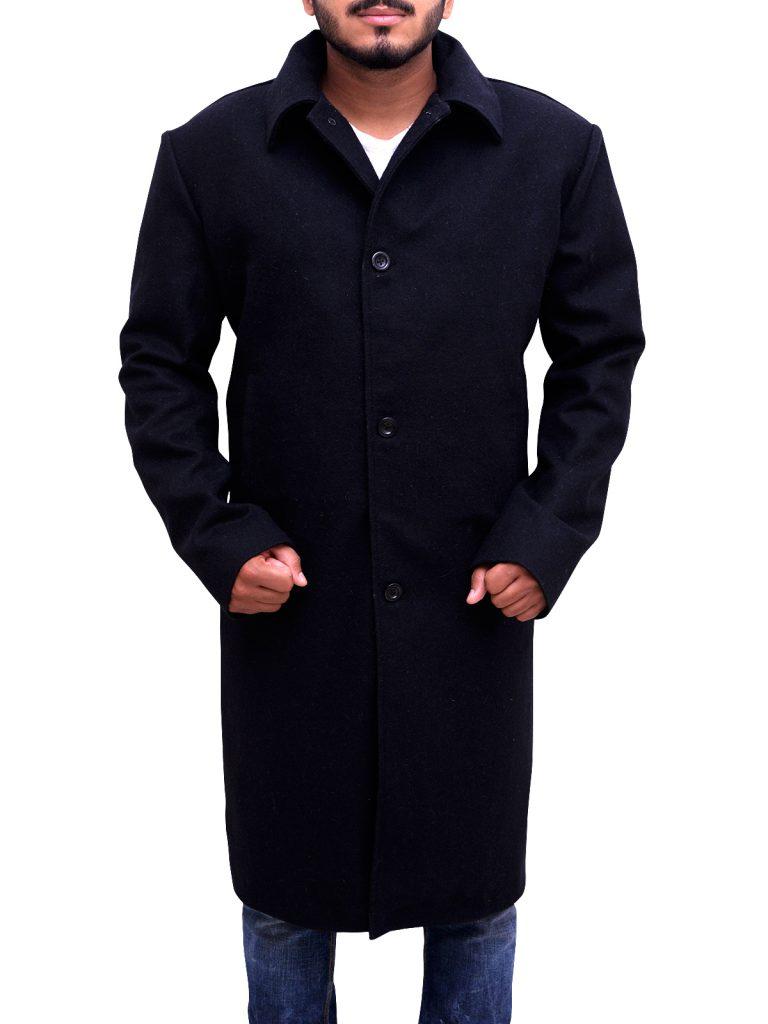 Black wook coat