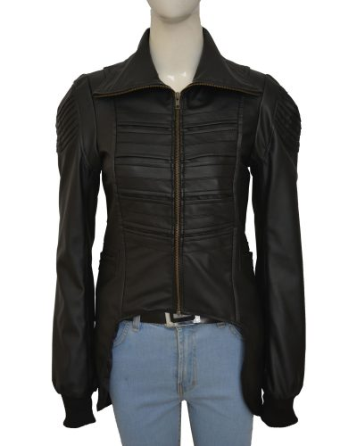 Woman's Leather fashion Jacket