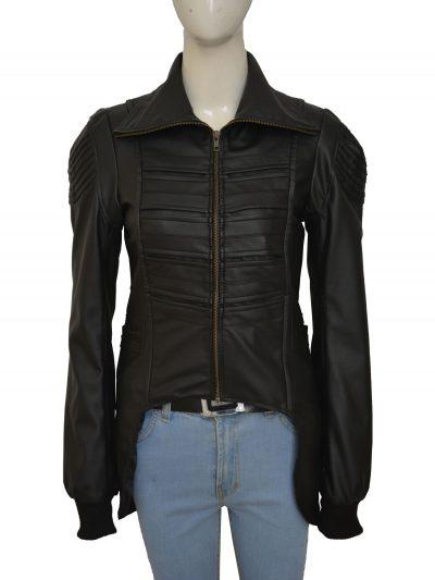Woman's Leather fashion Jacket