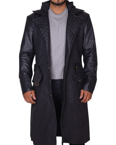 Stylish Wool Coat for men's