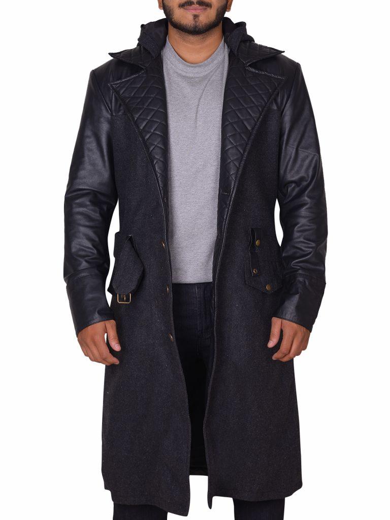 Stylish Wool Coat for men's
