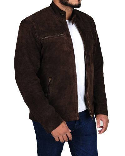 Suede Jacket Outfits for Men